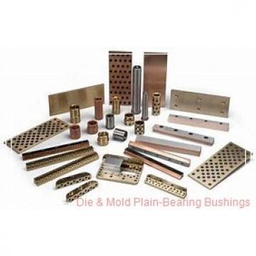 Bunting Bearings, LLC NF060816 Die & Mold Plain-Bearing Bushings