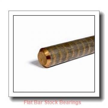 L S Starrett Company 54612 Flat Bar Stock Bearings