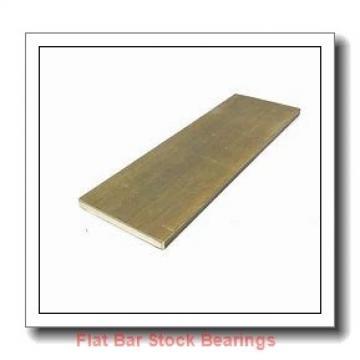 L S Starrett Company 54598 Flat Bar Stock Bearings