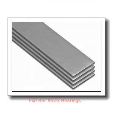 L S Starrett Company 54082 Flat Bar Stock Bearings