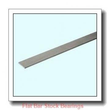 L S Starrett Company 54301 Flat Bar Stock Bearings