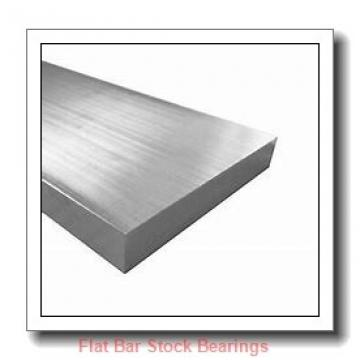L S Starrett Company 54731 Flat Bar Stock Bearings