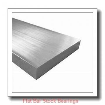 L S Starrett Company 57490 Flat Bar Stock Bearings