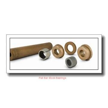 L S Starrett Company 54072 Flat Bar Stock Bearings